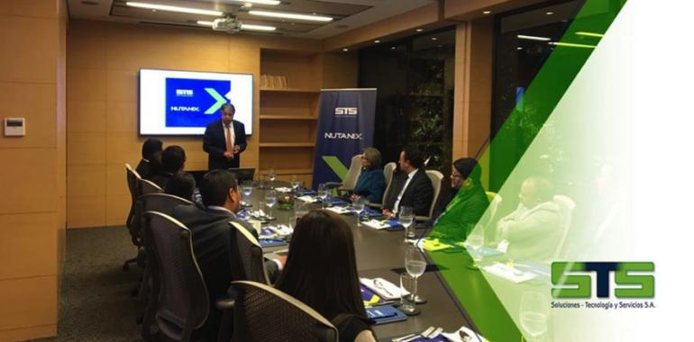 Evento STS – Nutanix Sector Banca y Seguros