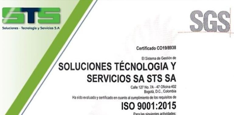 Certificación ISO 9001 – STS